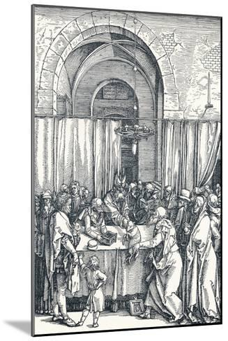 The Rejection of Joachims Offering, 1506-Albrecht D?rer-Mounted Giclee Print