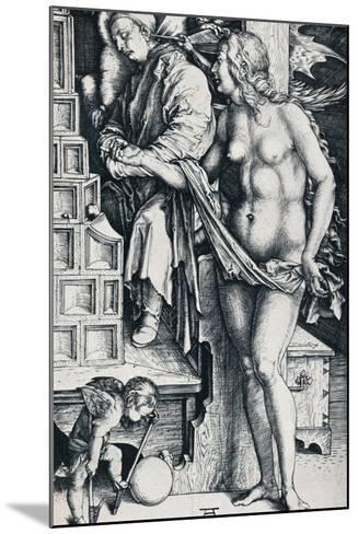 The Dream of the Doctor, 1497-1498-Albrecht D?rer-Mounted Giclee Print
