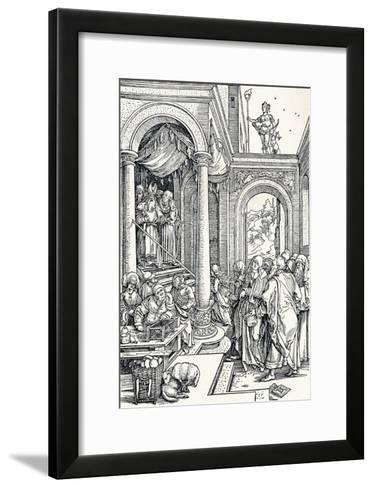 The Presentation of the Virgin in the Temple, 1506-Albrecht D?rer-Framed Art Print