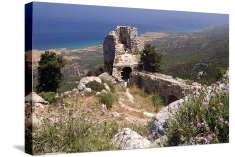 Kantara Castle, North Cyprus-Peter Thompson-Stretched Canvas Print