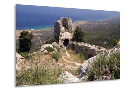 Kantara Castle, North Cyprus-Peter Thompson-Metal Print