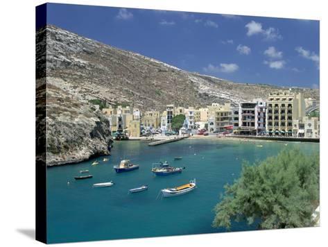 Xlendi, Gozo, Malta-Peter Thompson-Stretched Canvas Print