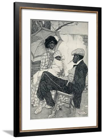 Prosperity - Stage Vi, C1920-Warwick Reynolds-Framed Art Print