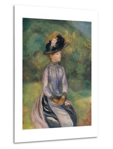 Adrenne, C1878, (1938)-Pierre-Auguste Renoir-Metal Print