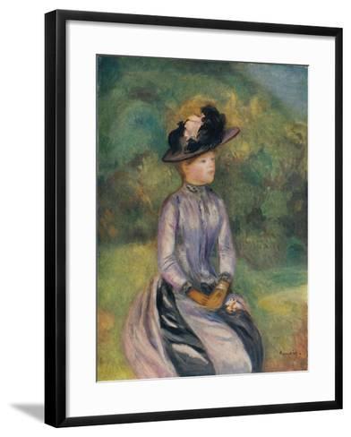 Adrenne, C1878, (1938)-Pierre-Auguste Renoir-Framed Art Print