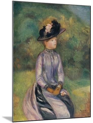Adrenne, C1878, (1938)-Pierre-Auguste Renoir-Mounted Giclee Print