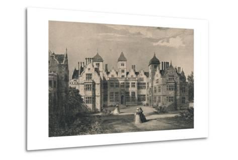 Aston Hall, Warwickshire, 1915-Allen Edward Everitt-Metal Print