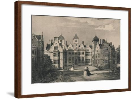 Aston Hall, Warwickshire, 1915-Allen Edward Everitt-Framed Art Print