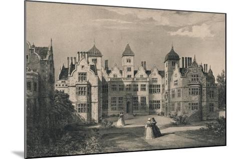 Aston Hall, Warwickshire, 1915-Allen Edward Everitt-Mounted Giclee Print
