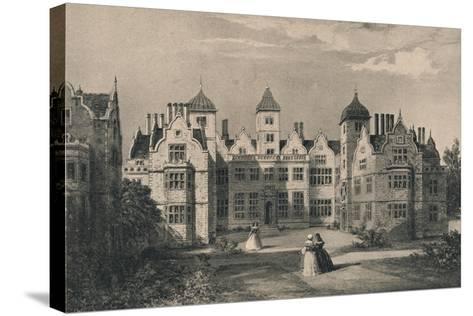 Aston Hall, Warwickshire, 1915-Allen Edward Everitt-Stretched Canvas Print