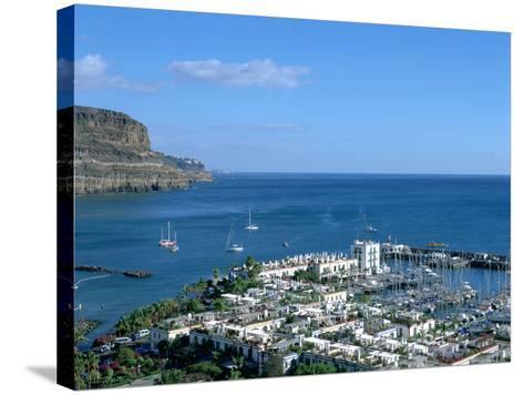 Puerto De Mogan, Gran Canaria, Canary Islands-Peter Thompson-Stretched Canvas Print
