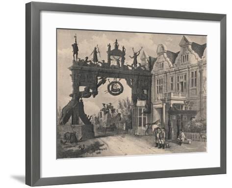 The White Hart Inn, Scole, Norfolk, 1915-CJ Richardson-Framed Art Print