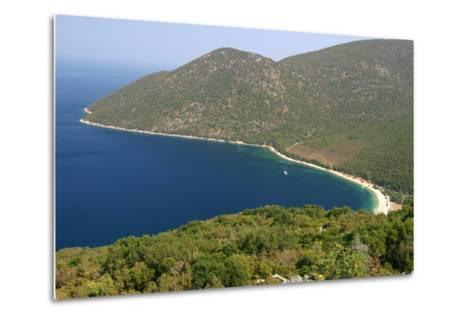 Antisamos (Captain Corellis Beach), Kefalonia, Greece-Peter Thompson-Metal Print