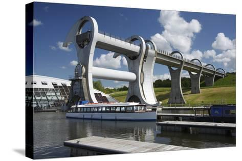 Falkirk Wheel, Stirlingshire, Scotland, 2009-Peter Thompson-Stretched Canvas Print