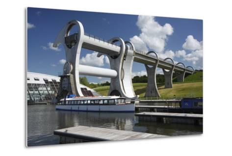 Falkirk Wheel, Stirlingshire, Scotland, 2009-Peter Thompson-Metal Print