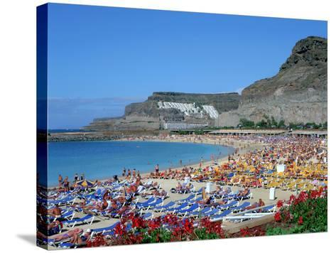 Playa Del Amadores, Gran Canaria, Canary Islands-Peter Thompson-Stretched Canvas Print