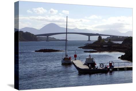 Skye Bridge, Highland, Scotland-Peter Thompson-Stretched Canvas Print