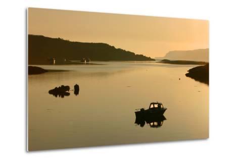 Sound of Ulva, Isle of Mull, Argyll and Bute, Scotland-Peter Thompson-Metal Print