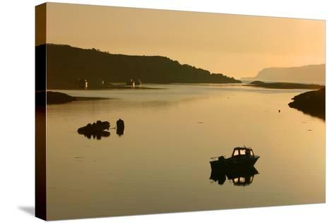 Sound of Ulva, Isle of Mull, Argyll and Bute, Scotland-Peter Thompson-Stretched Canvas Print