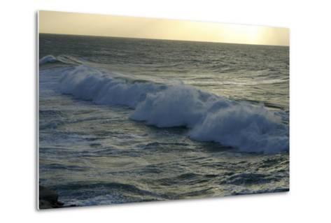 Seascape, Fuerteventura, Canary Islands-Peter Thompson-Metal Print