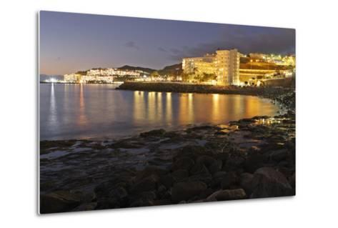 Looking Towards Patalavaca from Arguineguin, Gran Canaria, Canary Islands, Spain-Peter Thompson-Metal Print