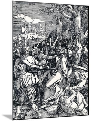 Christ Taken Captive, 1510-Albrecht D?rer-Mounted Giclee Print
