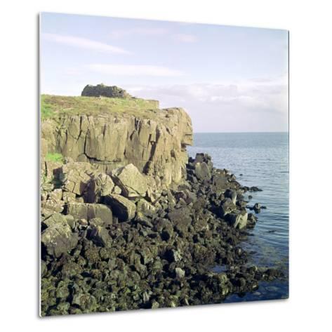 Ruadha a Dunain, a Promontory Fort on the Isle of Skye-CM Dixon-Metal Print