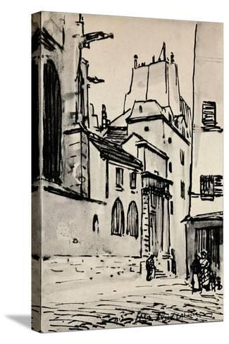 Rue Des Barres, 1915-Alfred Latour-Stretched Canvas Print