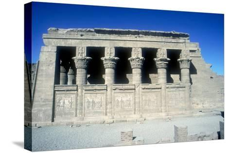 The Mammisi (Birth-House), Temple of Hathor, Dendera, Egypt, 125 BC - 60 Ad-CM Dixon-Stretched Canvas Print