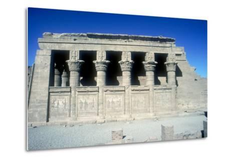 The Mammisi (Birth-House), Temple of Hathor, Dendera, Egypt, 125 BC - 60 Ad-CM Dixon-Metal Print