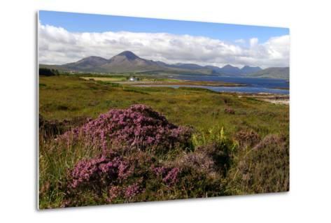 Cuillin Hills, Isle of Skye, Highland, Scotland-Peter Thompson-Metal Print