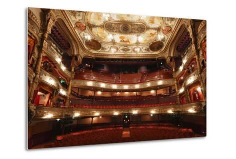 Interior of the Grand Opera House, Belfast, Northern Ireland, 2010-Peter Thompson-Metal Print