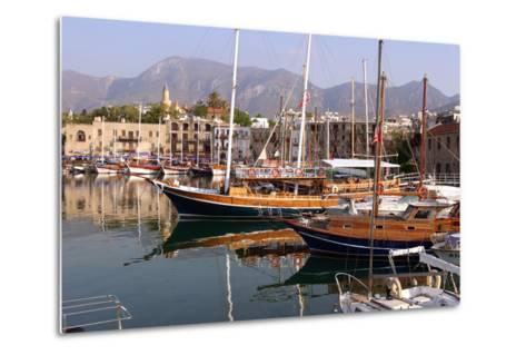 Harbour of Kyrenia (Girne), North Cyprus-Peter Thompson-Metal Print