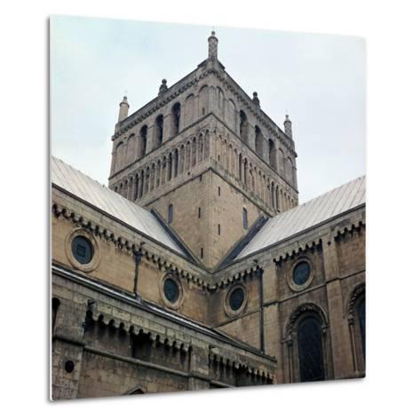 Lantern Tower of Southwell Minster, 12th Century-CM Dixon-Metal Print