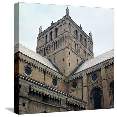 Lantern Tower of Southwell Minster, 12th Century-CM Dixon-Stretched Canvas Print