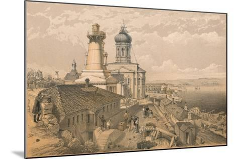 The Admiralty, Sebastopol, 1856-William Simpson-Mounted Giclee Print