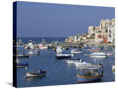 St Pauls Bay, Malta-Peter Thompson-Stretched Canvas Print
