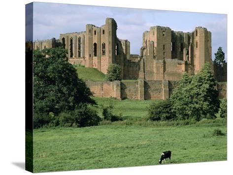 Kenilworth Castle, Warwickshire-Peter Thompson-Stretched Canvas Print