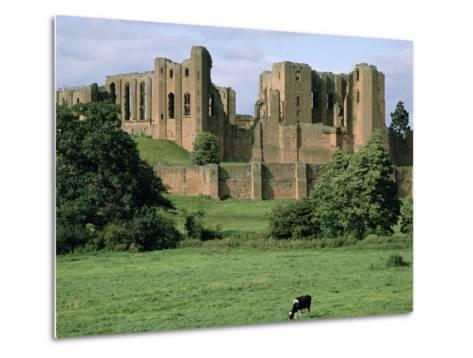 Kenilworth Castle, Warwickshire-Peter Thompson-Metal Print