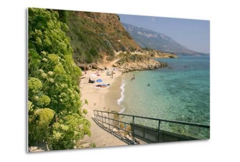 Agios Thomas Beach, Kefalonia, Greece-Peter Thompson-Metal Print