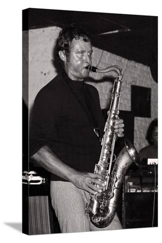 Stan Getz, Ronnie Scotts, London, 1971-Brian O'Connor-Stretched Canvas Print