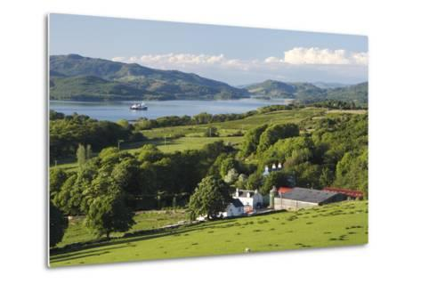 West Loch Tarbert from Kintyre, Argyll and Bute, Scotland-Peter Thompson-Metal Print