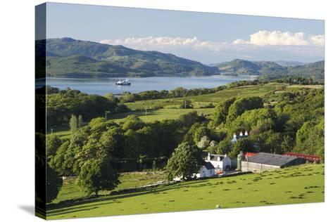 West Loch Tarbert from Kintyre, Argyll and Bute, Scotland-Peter Thompson-Stretched Canvas Print