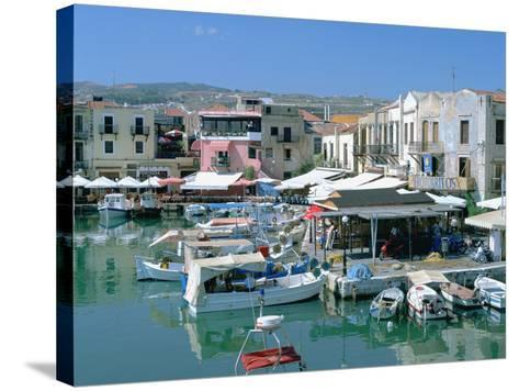 Old Harbour, Rethymnon, Crete, Greece-Peter Thompson-Stretched Canvas Print