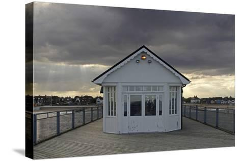 Pier, Southwold, Suffolk-Peter Thompson-Stretched Canvas Print