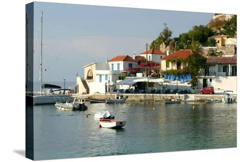 Assos, Kefalonia, Greece-Peter Thompson-Stretched Canvas Print