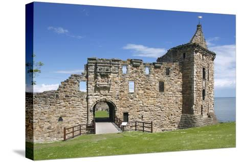 St Andrews Castle, Fife, Scotland, 2009-Peter Thompson-Stretched Canvas Print