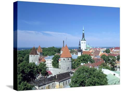 St Olavs Church, Tallinn, Estonia-Peter Thompson-Stretched Canvas Print