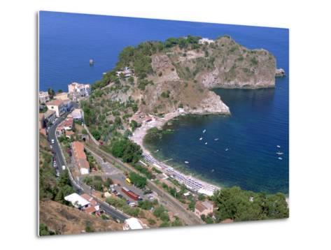Capo Sant Andrea, Taormina, Sicily, Italy-Peter Thompson-Metal Print
