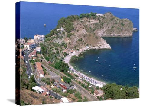 Capo Sant Andrea, Taormina, Sicily, Italy-Peter Thompson-Stretched Canvas Print